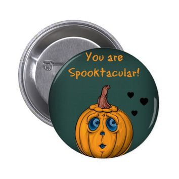 Halloween Pinback Button