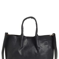 Junior Women's Street Level Faux Leather Tote