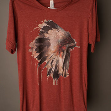 "Gina ""Indian Headdress"" Tee"