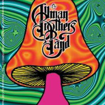 Allman Brothers Band Vinyl Sticker Shroom Logo