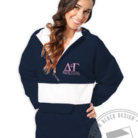 Delta Gamma - Anchor Rain Jacket - Order now to help us reach our goal!