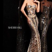 Sherri Hill 2813 at Prom Dress Shop