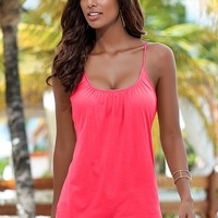 CORAL Relaxed fit bra top from VENUS