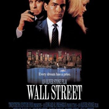 Wall Street 27x40 Movie Poster (1987)