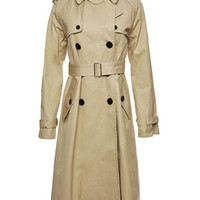 Cotton Trench Coat - Marc Jacobs