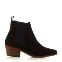 Dune   Blue Petra Simple Point Boots   Lyst