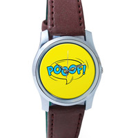 Comic Poof Wrist Watch