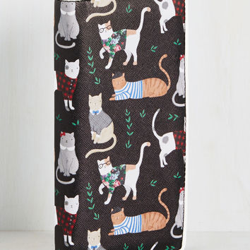 Cats or Credit? Wallet | Mod Retro Vintage Wallets | ModCloth.com