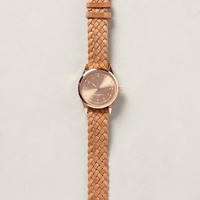 Rosegold Braid Watch by Triwa Gold One Size Jewelry