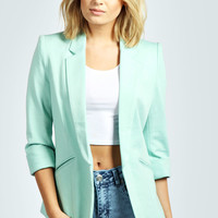 Melissa Turn Up Cuff Blazer