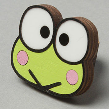 The Sanrio x Neivz Keroppi Laminate Ring : NEIVZ : Karmaloop.com - Global Concrete Culture