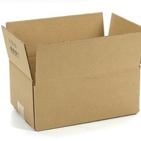"Duck Brand Kraft Corrugated Shipping Boxes, 11.75"" x 8"" x 4.75"", Brown, 12-Pack (394526)"