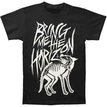 Bring Me The Horizon Men's  Wolf Bones T-shirt Black