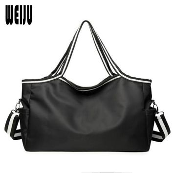 WEIJU Fashion Traveling Bag Women Casual Female Weekend Shoulder Bag Handbag Large Capacity Luggage Bags for Women 2017