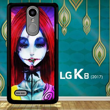 Sally The Nightmare Before Christmas Y0860 LG K8 2017 / LG Aristo / LG Risio 2 / LG Fortune / LG Phoenix 3  Case