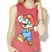 Mario Muscle Tank | Wet Seal