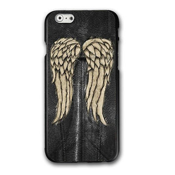 The Walking Dead Iphone 6 Phone Case Cover. Daryl Dixon vest angel wings