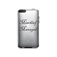 Harry Potter Inspired Mischief Managed Ipod by NothinbutVinyl