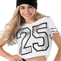 Varsity Graphic Cropped Tee | Urban Groove®