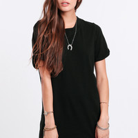 Early Morning T-Shirt Dress In Black