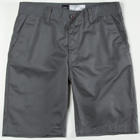 Rvca Week-End Mens Slim Shorts Charcoal  In Sizes