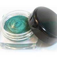 Metallic Green Gel Eyeliner Waterproof Smudge Proof 5 gram Pot