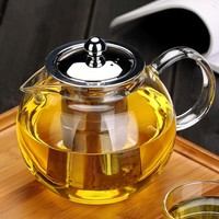 Glass Teapot with Infuser & Lid
