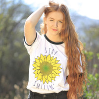 Stay Smilin' Tee from Stay Smilin'