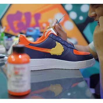 Blue Orange Splatt - air force one custom