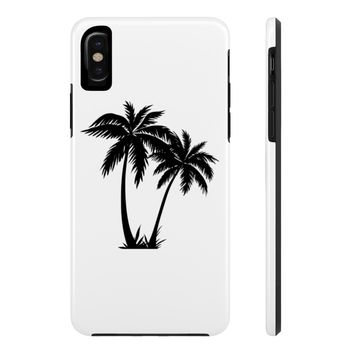 Palm Tree Tough Phone Cases