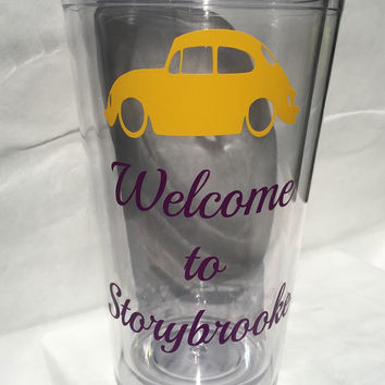 Welcome to Storybrooke Hot/Cold 20 oz Tumbler inspired from Disney's Once Upon A Time
