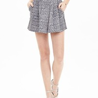 Banana Republic Stitch Print Culotte