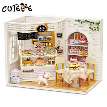 Miniature Cake Shop Wooden Doll House