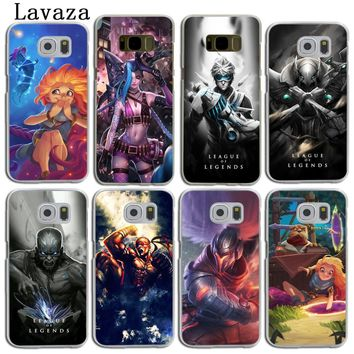 Lavaza League of Legends lol Teemo Lee Sin Hard Skin Phone Case for Samsung Galaxy S9 S8 Plus S3 S4 S5 S6 S7 Edge Back Cover