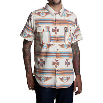 Loser Machine Seeley Shirt - Short-Sleeve - Men's Bone,