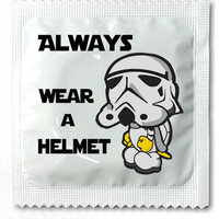 Star Wars Condoms - Wear A Helmet