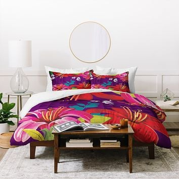 Juliana Curi Mix Flower 3 Duvet Cover