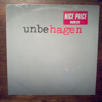 Rare Vintage Sealed 1979 Nina Hagen Unbehagen Vinyl Record Album Punk Shrink