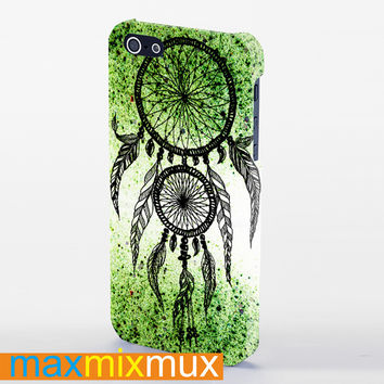 Dreamcatcher Glitter iPhone 4/4S, 5/5S, 5C Series Full Wrap Case