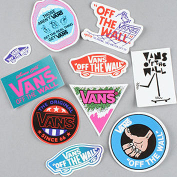 Vans  The 10 Piece Sticker Pack : Karmaloop.com - Global Concrete Culture