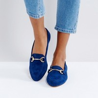 Office Fast Lane Suede Loafer Shoes at asos.com