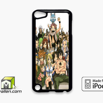 Fairy Tail Manga Collage iPod Touch 5th Case Cover by Avallen