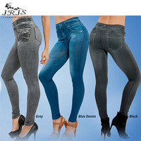 Spring Leggings Jeans Women Denim Pants