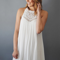 Misty Mountain Embroidered Dress