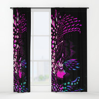 Hidden Face Window Curtains by ES Creative Designs