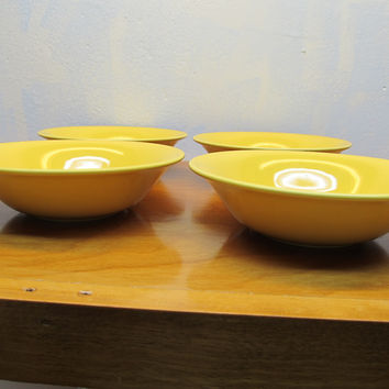 SET OF FOUR FUQIO HOME SALAD BOWLS MADE IN PORTUGAL