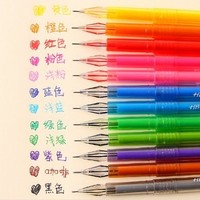 12 colors cartoon fresh Star Diamond color gel pen