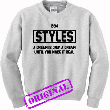 Harry Styles quote for sweater ash, sweatshirt ash unisex adult