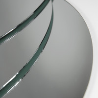 Round Centerpiece Mirrors 12in Pack of 6