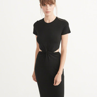 Womens Cutout Midi Dress | Womens New Arrivals | Abercrombie.com